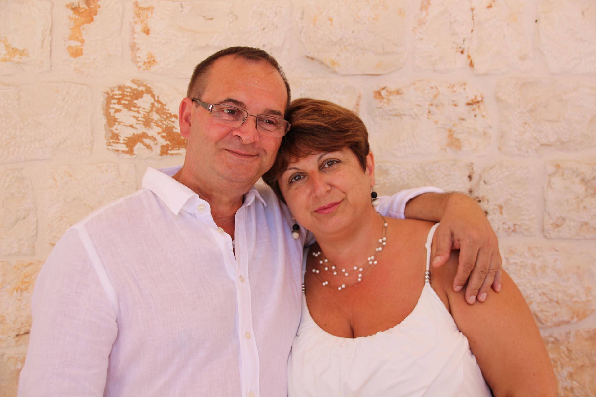 Angela und Cosimo Guarella
